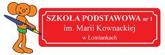 logo szkoły podstawowej nr 2 w Łomiankach